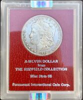 1892-CC MORGAN SILVER DOLLAR REDFIELD HOARD MINT STATE 65 NGC MINT STATE 62KEY DATE