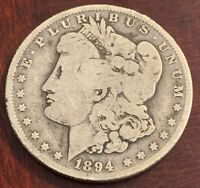 1894 O MORGAN DOLLAR. SEMI KEY M204