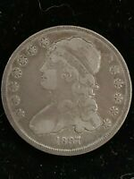1837 25 CENT CAPPED BUST