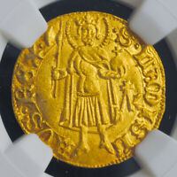 1437 HUNGARY/ROMANIA SIGISMUND OF LUXEMBURG. GOLD GULDEN  DUCAT . NGC MS 64