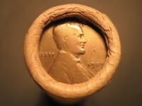 AU / UNC / BU & S MINT ROLL OF LINCOLN WHEAT CENT PENNIES