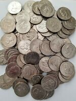 LOT OF 100 EISENHOWER DOLLARS   1971 TO 1978 MIXED INCLUDING