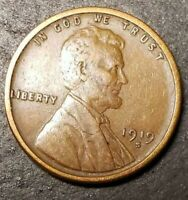 1919S LINCOLN PENNY-EF