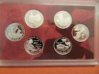 2009 S UNITED STATES MINT SILVER PROOF SET 18 COINS NO BOX A