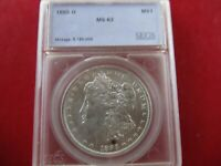 1885 O $1 MORGAN SILVER DOLLAR US COIN CHOICE UNCIRCULATED MINT STATE