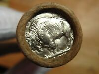 ONE  BOA SF BUFFALO NICKEL ROLL GEM P MINT AND D MINT ENDS