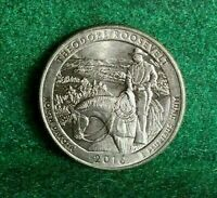 NATIONAL PARKS STATE QUARTER 2016 D THEODORE ROOSEVELT NORTH