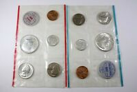 ONE UNITED STATES 1964   UNCIRCULATED MINT SET IN ORIGINAL P