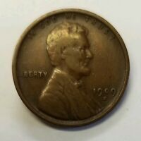 1909 S VDB LINCOLN WHEAT CENT