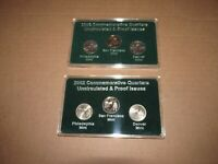 2002 COMMEMORATIVE QUARTERS UNCIRCULATED & PROOF / FOR DATES