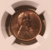 USA 1941 S ONE CENT NGC MINT STATE 64 RB - LINCOLN WHEAT