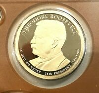 2013 PDS THEODORE ROOSEVELT PRESIDENTIAL MINT PROOF SET P &D FROM US MINT SETS