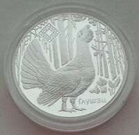 BELARUS 2018 RESERVE KOTRA APERCAILLIE 20 RUBLES SILVER COIN