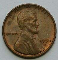 1950 S LINCOLN WHEAT CENT ALMOST UNCIRCULATED AU US COIN C-1