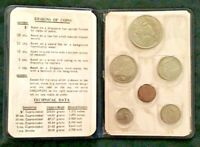 SINGAPORE 1968 COIN SET MINT ISSUE