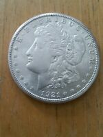 1921-S MORGAN SILVER DOLLAR.   LOW MINTAGE COIN 233