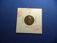 US MINT 1941 - S & 1994 - D CHRISTMAS TREE LINCOLN PENNY