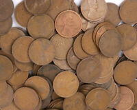 1909 1919 LOT OF 500 LINCOLN WHEAT PENNIES US COINS   MIXED