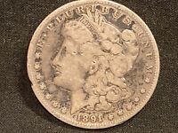 1891 S 90 SILVER MORGAN DOLLAR 146