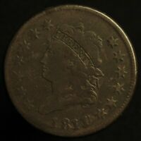1811/0 CLASSIC HEAD LARGE CENT    VG TO F CONDITION