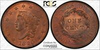 1820 N 13 LARGE DATE 1C PCGS MS65RB PCGS TRUEVIEW 1 CENT ONE PENNY CENTS COIN