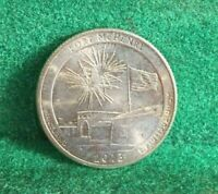 NATIONAL PARKS STATE QUARTER 2013 D FORT MCHENRY MARYLAND AT