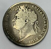 GEORGE IV GREAT BRITAIN 1821 SECUNDO CROWN