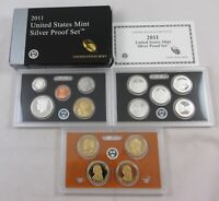 2011 S UNITED STATES MINT SILVER PROOF SET   14 COIN PROOF S