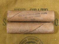 ONE  NATIONAL CITY BANK NY INDIAN HEAD PENNY ROLL 50 CENTS