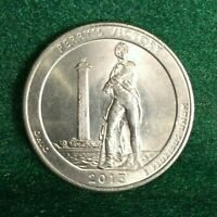 NATIONAL PARKS STATE QUARTER 2013 D PERRY'S VICTORY OHIO ATB