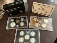 2009 2012 SILVER PROOF SETS