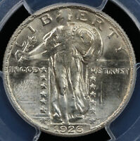 1926-D 25C STANDING LIBERTY QUARTER PCGS MINT STATE 64