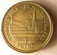 2014 ISLE OF MAN POUND   HARD TO FIND COIN   LOW MINTAGE   L