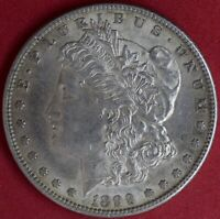 1899-S MORGAN DOLLAR CHOICE ABOUT UNCIRCULATED