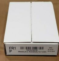 2014P F. ROOSEVELT $1- UNCIRC- MINT ISSUED ROLL 25 COINS- UNOPENED BOX  FR1 P