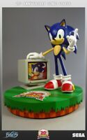 SONIC STATUE   20TH ANNIVERSARY   COLLECTOR   NUMBERED