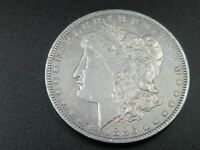 1886-O MORGAN SILVER DOLLAR ABOUT UNCIRCULATED NEW ORLEANS LOT1460