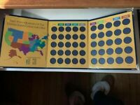 FIRST STATE QUARTERS UNITED STATES COLLECTOR'S MAP 1999 2008