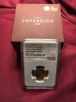 2017 GOLD PROOF SOVEREIGN- PISTRUCCI 200TH ANNIVERSARY NGC PF70 BOXED WITH COA