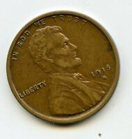 1915 S  LINCOLN WHEAT CENT -  EXTRA FINE