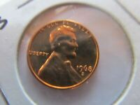 1968 S LINCOLN CENT GEM PROOF US COIN