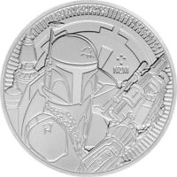 2020 NIUE STAR WARS SERIES BOBA FETT 1 OZ .999 FINE SILVER BU COIN   IN STOCK