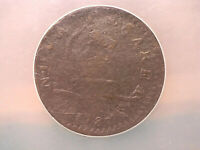 1787 NEW JERSEY COPPER- SM. PLAN. PL. SHIELD- NCS EXTRA FINE -DETAILS.   BROWN COIN.