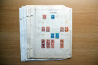 OLD US REVENUE STAMP COLLECTION. REV DOCUMENTARY STOCK. AUCT