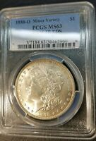 SCARFACE 1888 O SILVER MORGAN DOLLAR PCGS MINT STATE 63 VAM 1B EDS