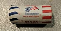 2010 P PRESIDENTIAL DOLLARS  FILLMORE 1 ROLL OF 25  US MINT ROLLED  TONED