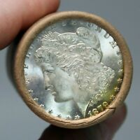 $20 MORGAN SILVER DOLLAR ROLL UNCIRCULATED 1904 AND O ENDS