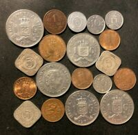 OLD NETHERLANDS ANTILLES/CURACAO COIN LOT   1943 PRESENT   1