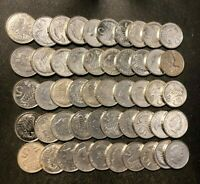 OLD CAYMAN ISLANDS COIN LOT   50 EXCELLENT SCARCE COINS   LO