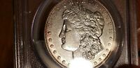 1901 MORGAN SILVER DOLLAR  PCGS EXTRA FINE 45 HINT OF ROSE TONING